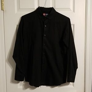 Other - Black Button Down Shirt